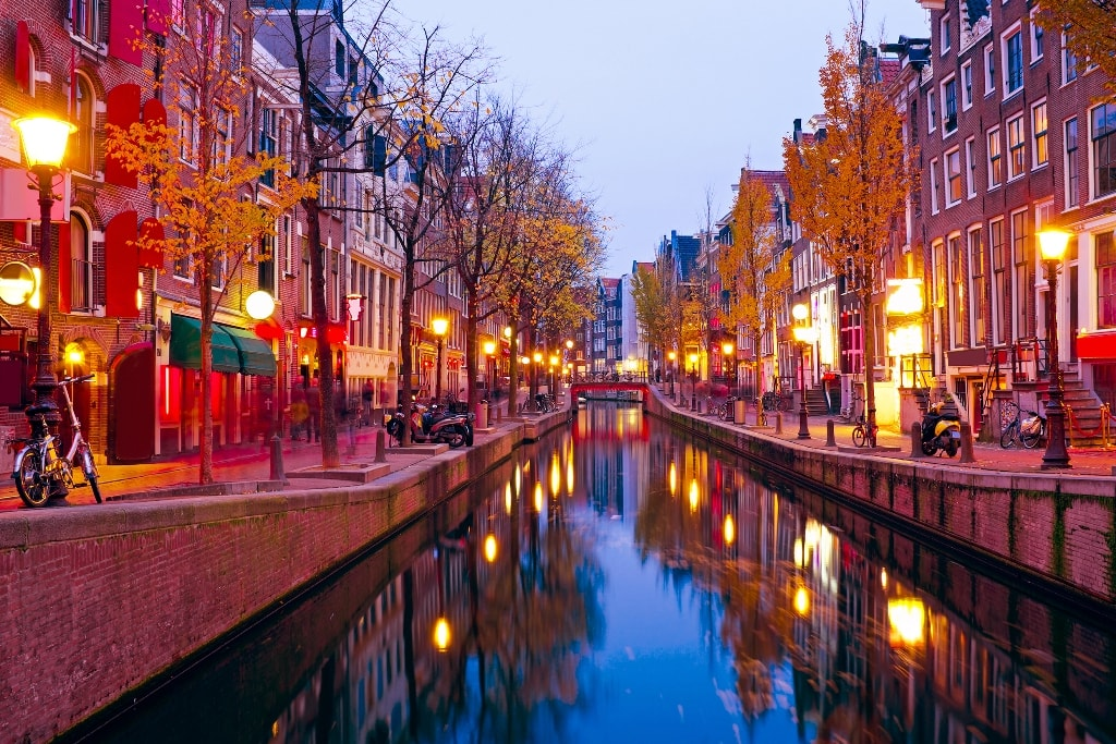 Red light district - Two days in Amsterdam: a guide for first-time visitors