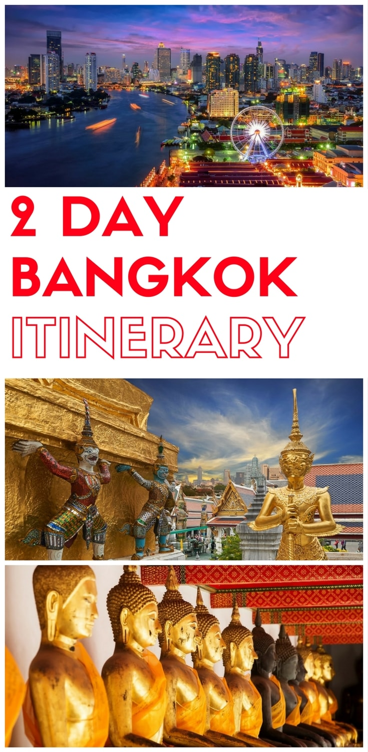2 days in Bangkok, what to do in Bangkok in 2 days, Things to do in Bangkok in two days, a 2 day itinerary of Bangkok for first time visitors