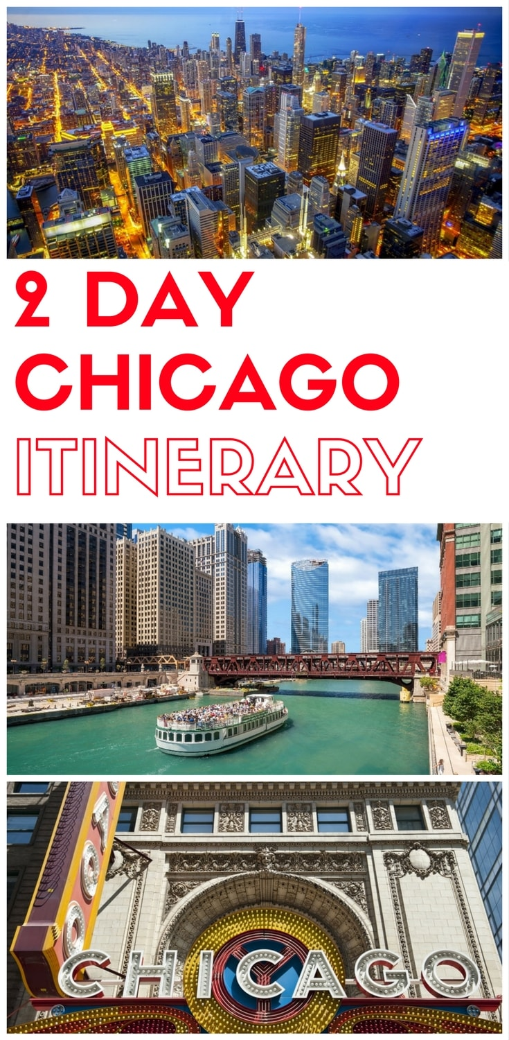 2 days in Chicago, what to do in Chicago in 2 days, Things to do in Chicago in two days, a 2 day itinerary of Chicago for first time visitors