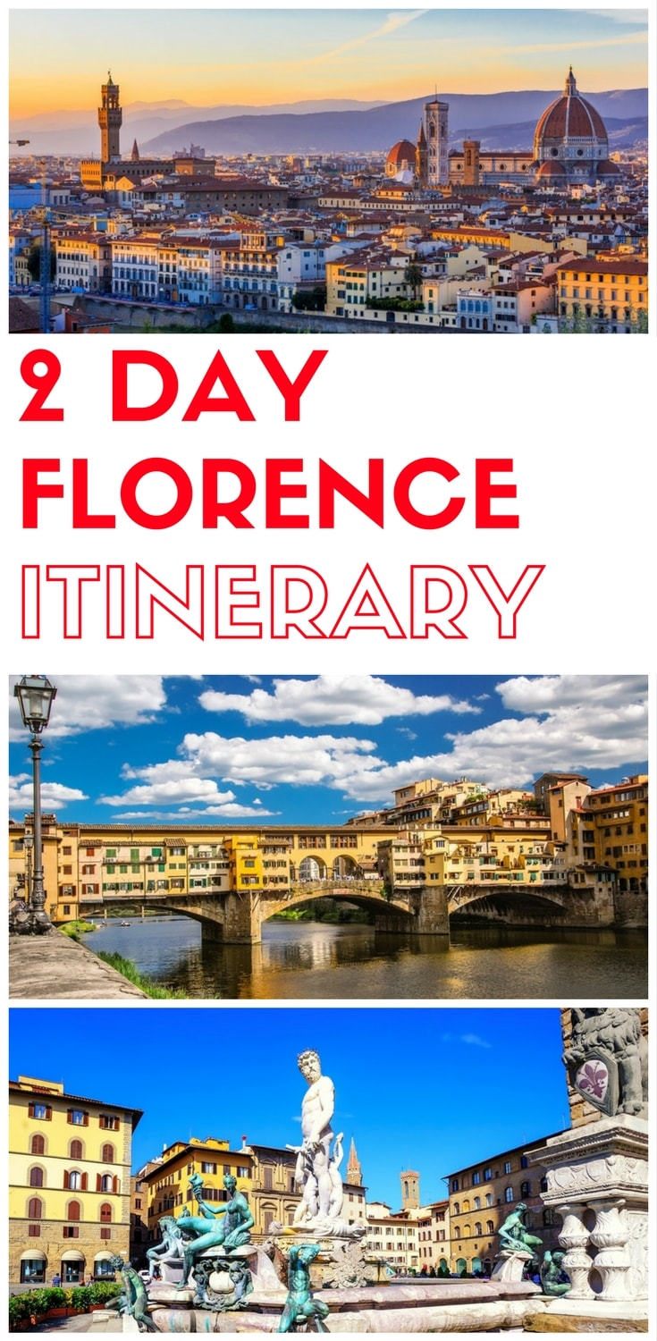 2 days in Florence, what to do in Florence in 2 days, Things to do in Florence in two days, a 2 day itinerary of Florence for first time visitors