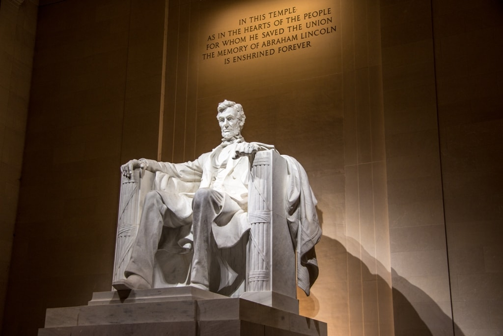 Abraham Lincoln Memorial -Two days in Washington DC