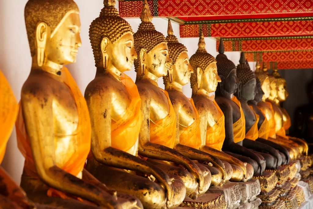 Buddhist temple, Wat Pho - Two days in Bangkok