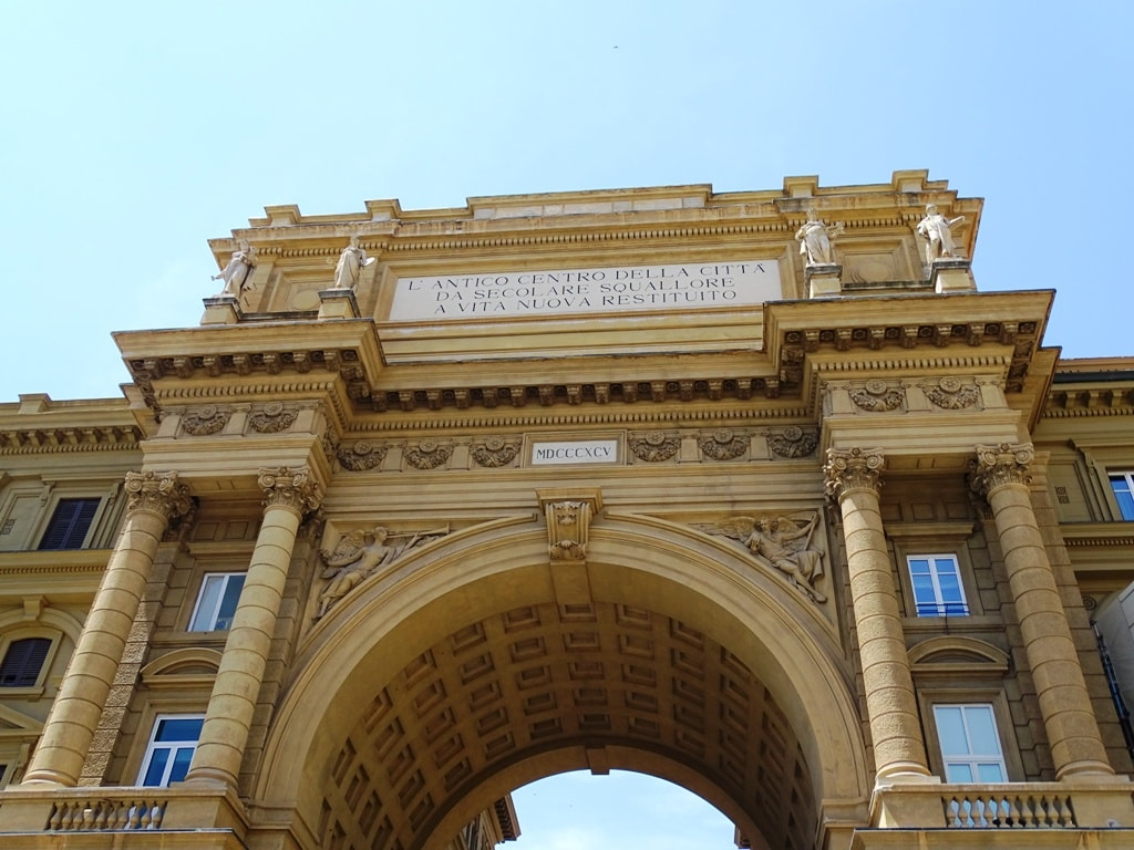 Piazza della Republicca -Two days in Florence