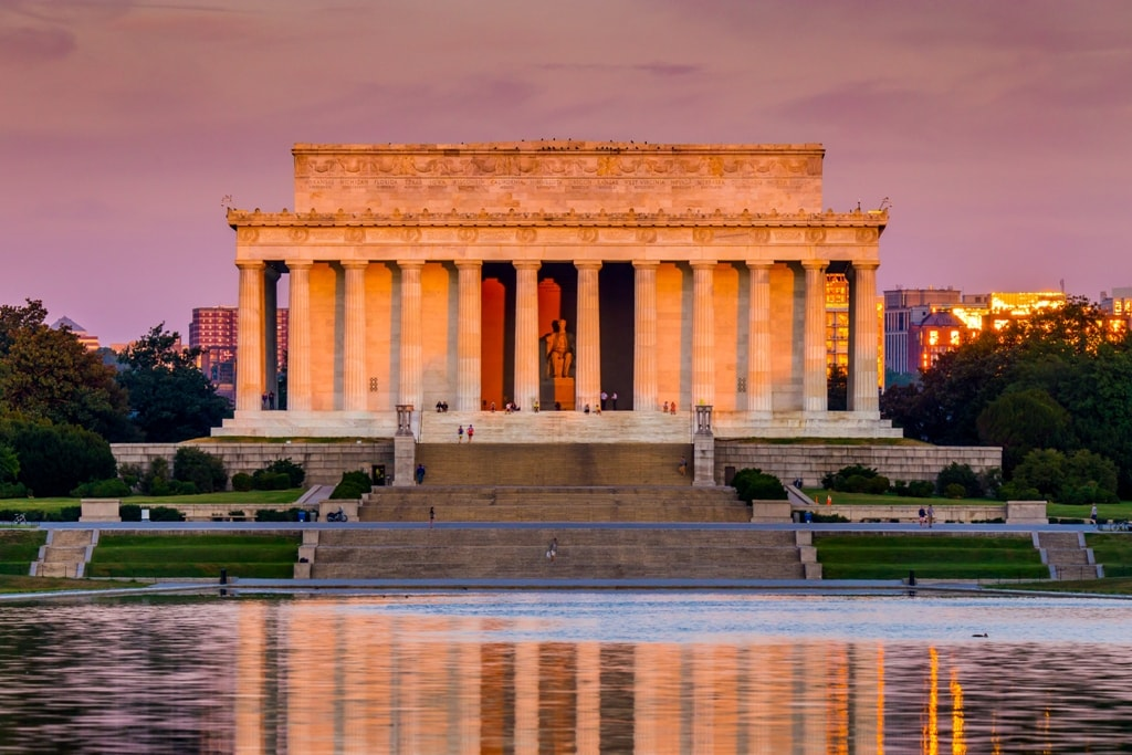 Lincoln Memorial -Two days in Washington DC