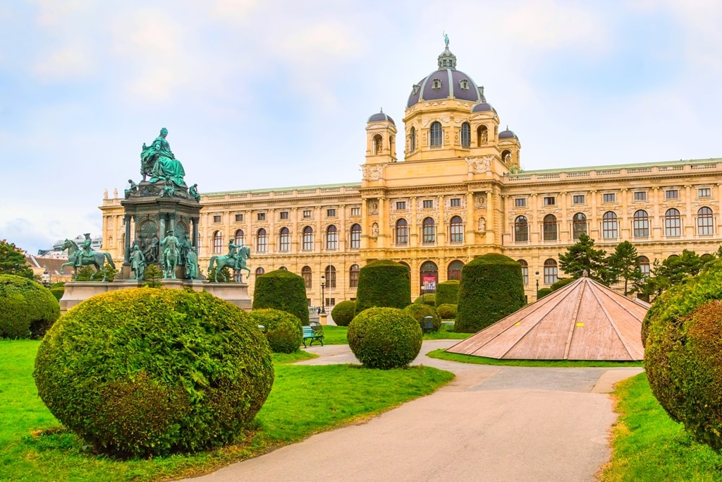 Fine Arts Museum and Maria Theresien Monument -Two days in Vienna