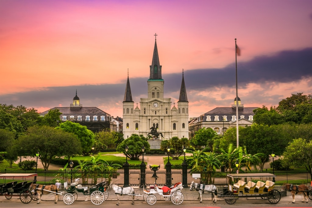 Jackson Square -Two days in New Orleans