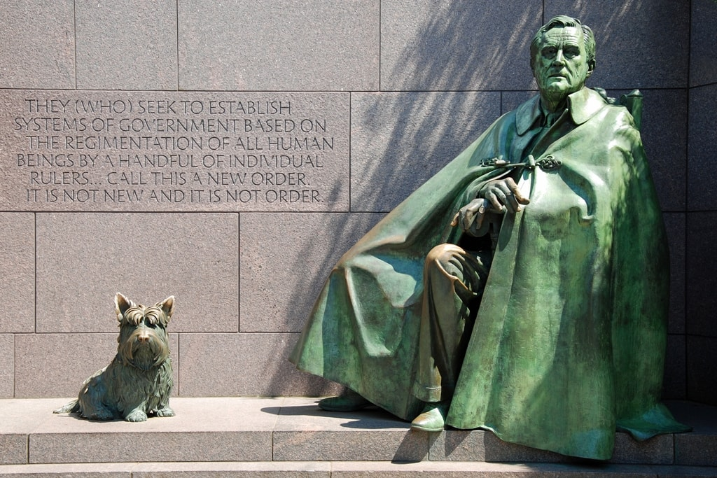 Franklin Delano Roosevelt Memorial- Two days in Washington DC