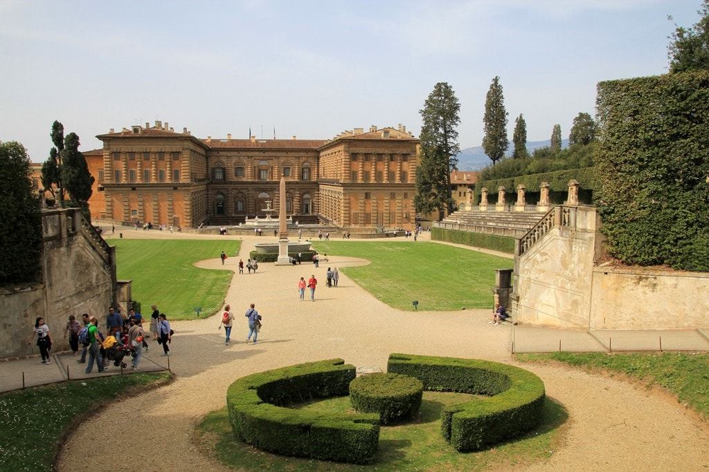 Palazzo Pitti and Boboli gardens -Two days in Florence