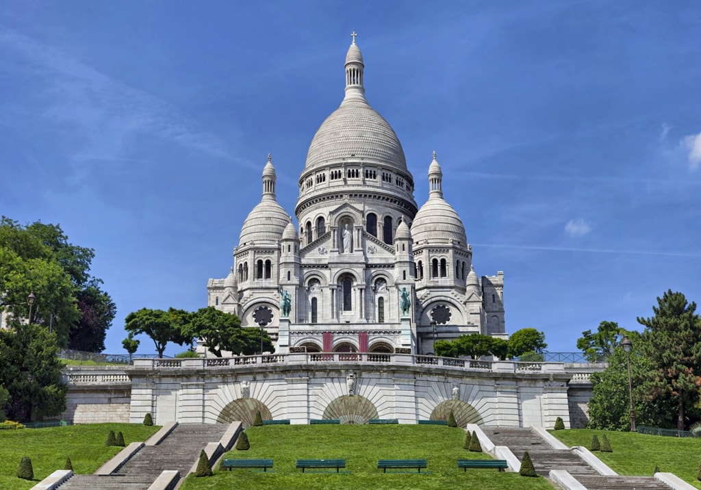 Sacre-Coeur Basilica on Montmartre-Two days in Paris