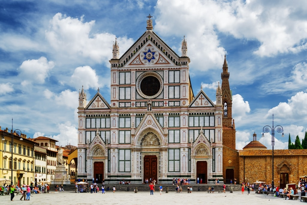 The Basilica di Santa Croce -Two days in Florence
