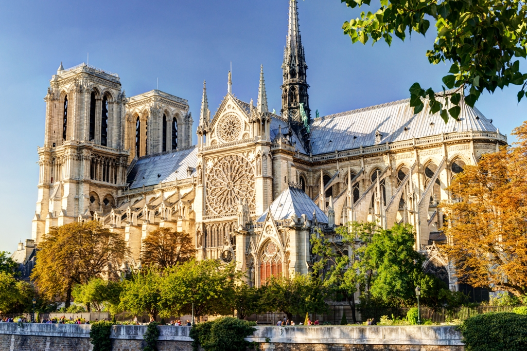 The Cathedral of Notre Dame de Paris-Two days in Paris