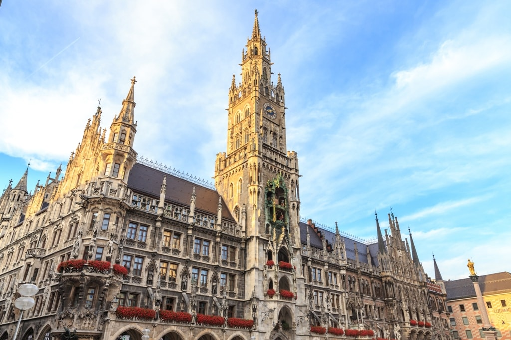 Town Hall (Rathaus) in Marienplatz -Two days in Munich
