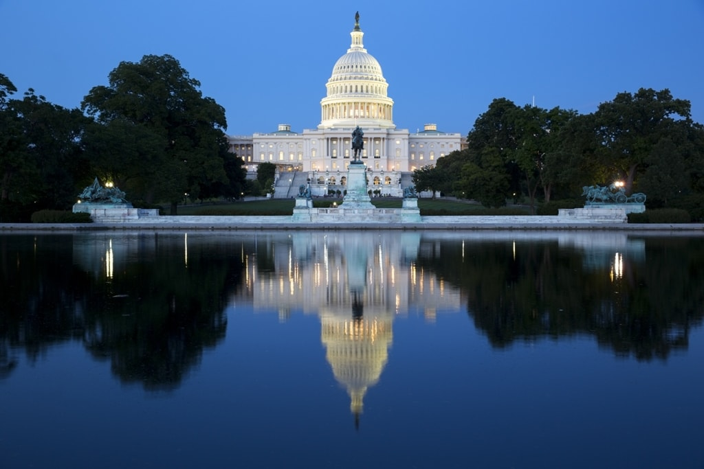 United States Capitol -Two days in Washington DC