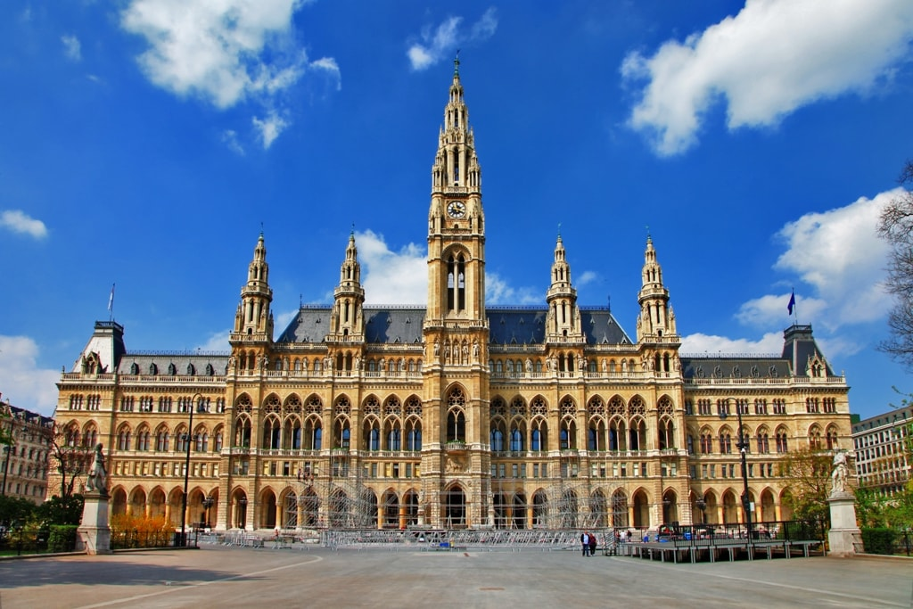 Viena City hall -Two days in Vienna