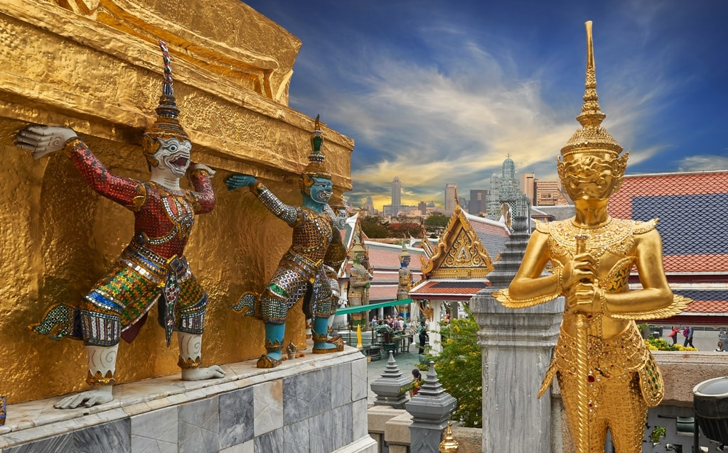 Wat Phra Kaeo, Temple of the Emerald Buddha Bangkok -Two days in Bangkok