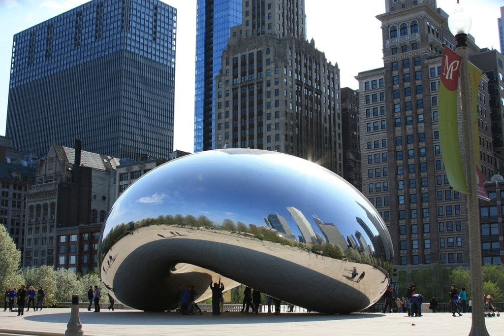 The Cloud Gate Sculpture -Two days in Chicago