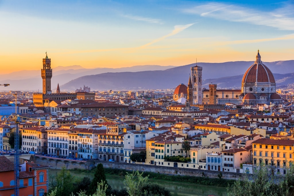 Piazzale Michelangelo - Two days in Florence