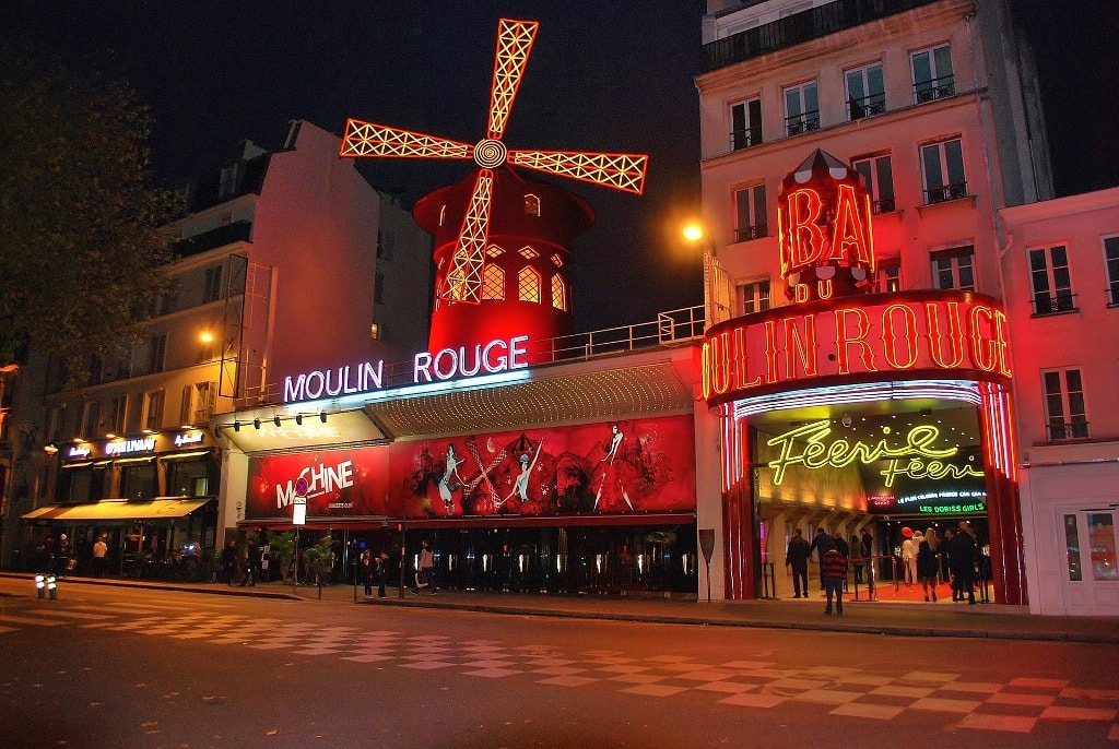 Moulin Rouge -Two days in Paris