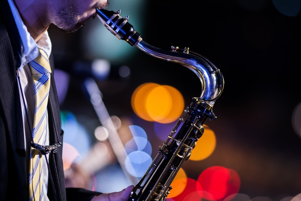 live jazz - Two days in New Orleans