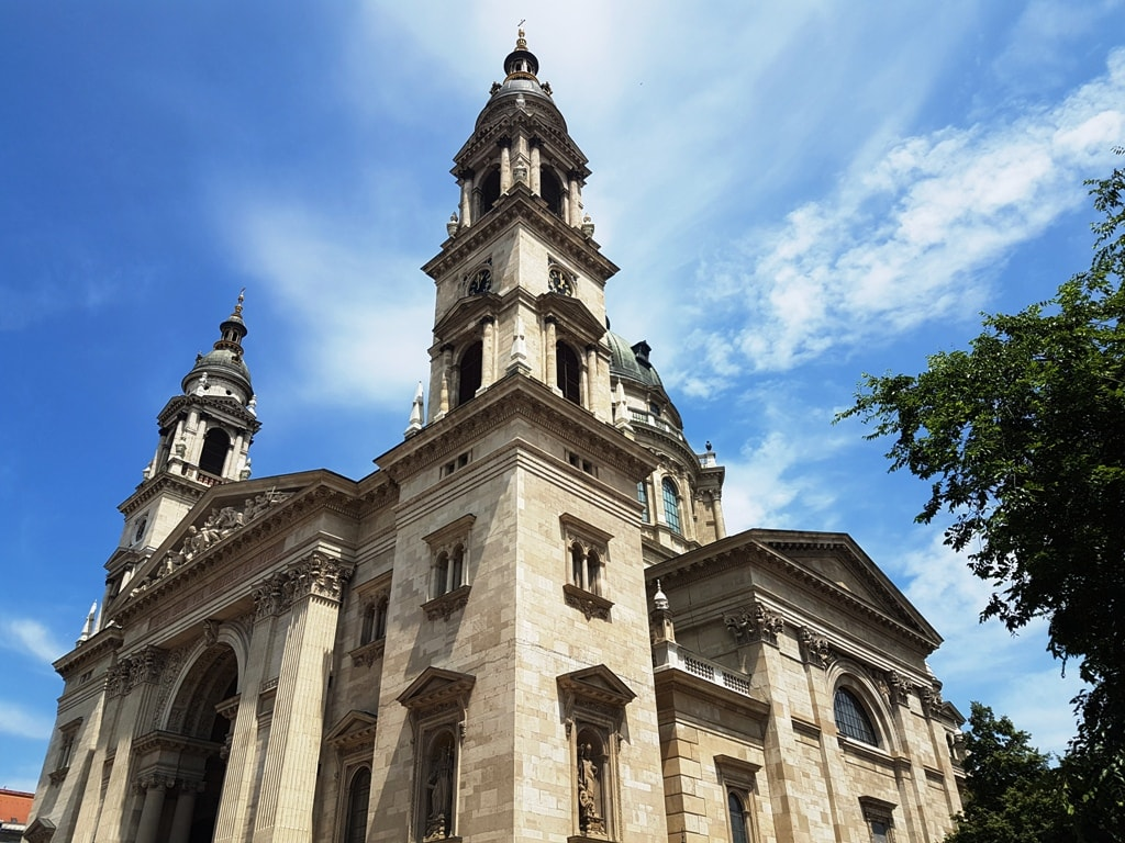 St. Stephen's Basilica - 2 days in Budapest itinerary