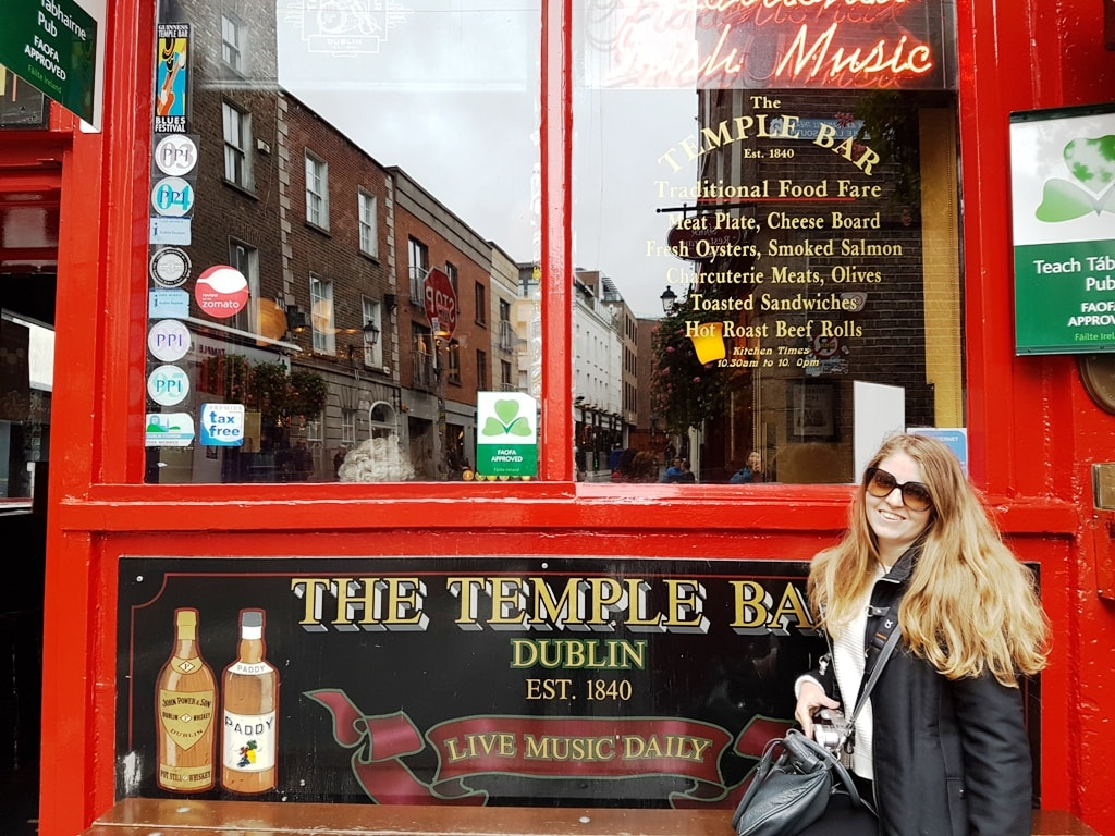Temple Bar - two days in Dublin itinerary