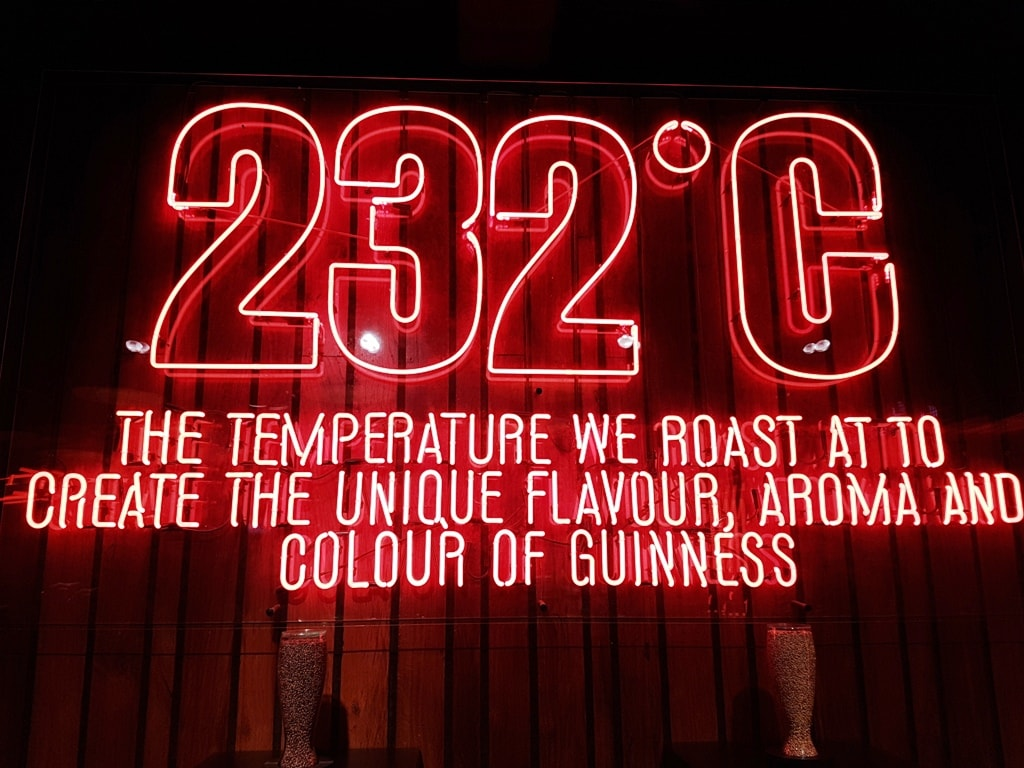 2 days in Dublin Guinness Storehouse