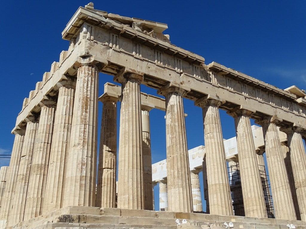 Parthenon - 2 days in Athens itinerary