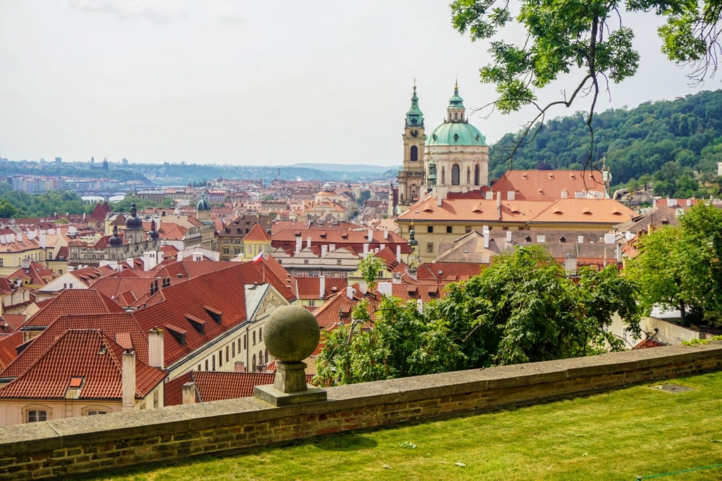 The view from Prague Castle - 2 days in Prague itinerary