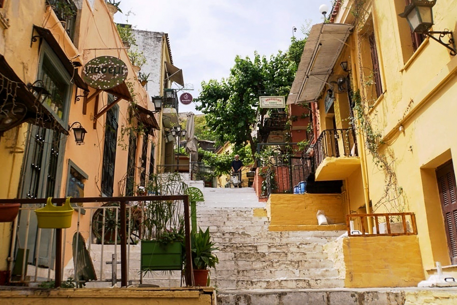 Plaka Athens - 2 days in Athens Greece