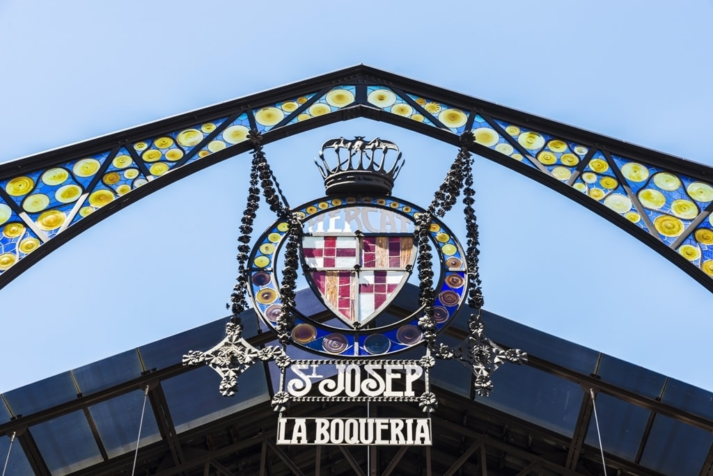 Entrance of La Boqueria - 2 days in Barcelona