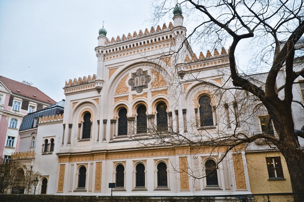 Famous Spanish Synagogue in the Jewish quarter of Prague - 2 days in Prague