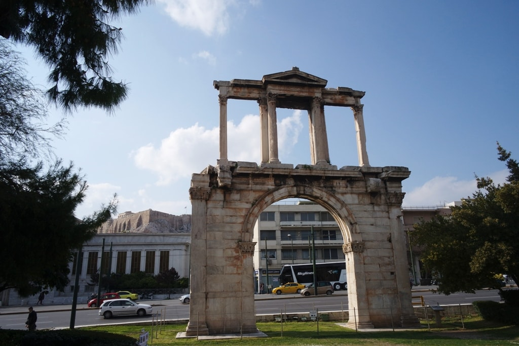 Hadrian's Arch - Two days in Athens