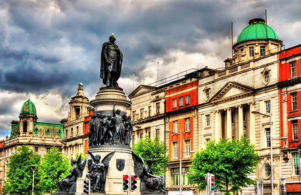 Monument of Daniel O'Connell - Dublin itinerary