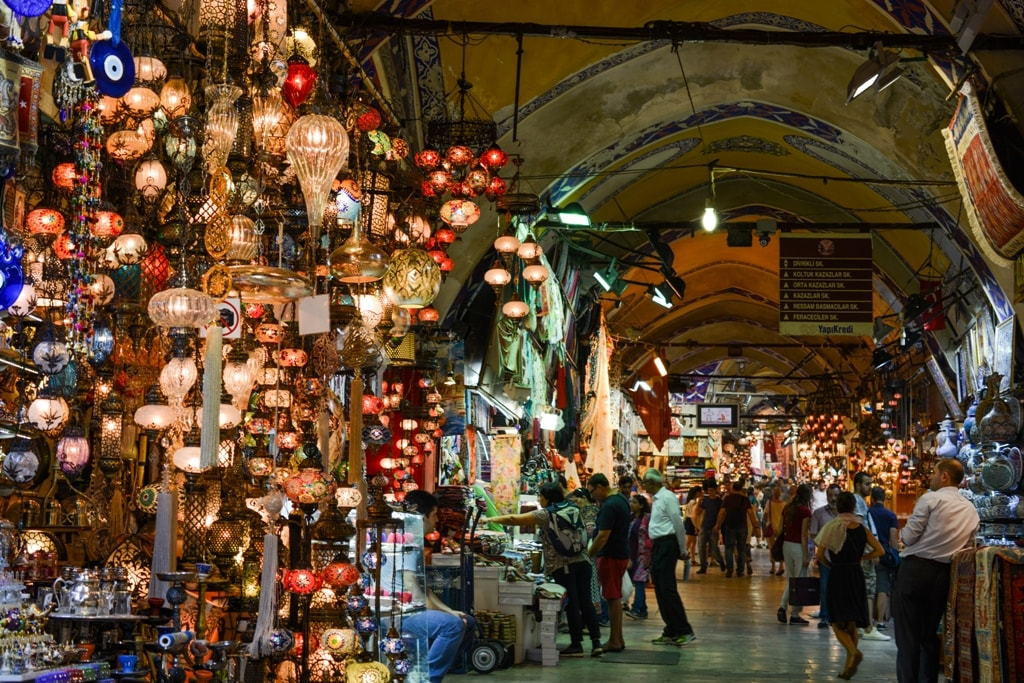 Grand Bazaar in Istanbul- - two days in Istanbul