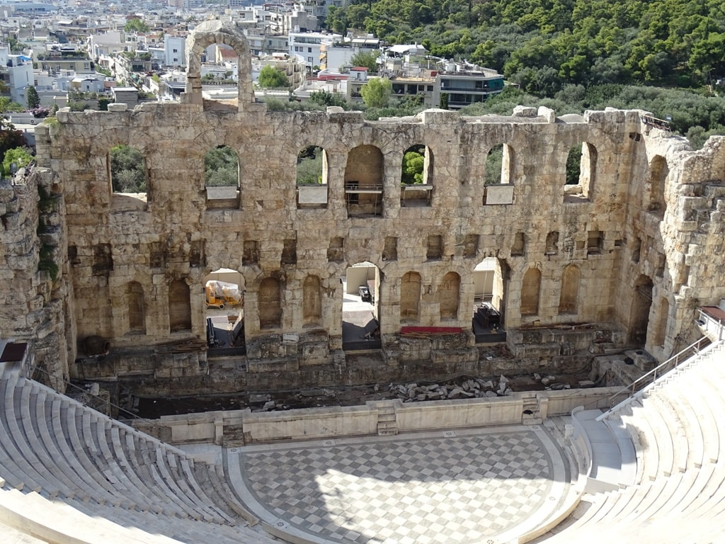 2 days in Athens - Odeon of Herodus Atticus