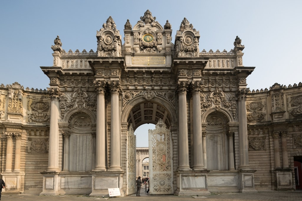 Dolmabahce Palace - two days in Istanbul