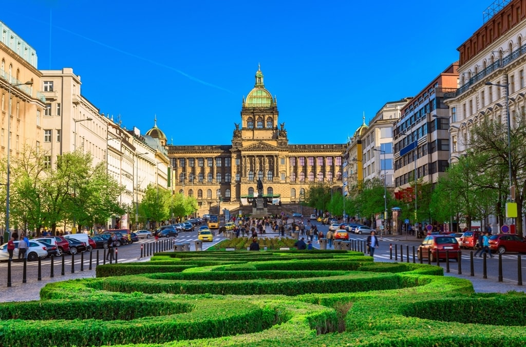 Wenceslas Square and the National Museum - how to spend 2 days in Prague