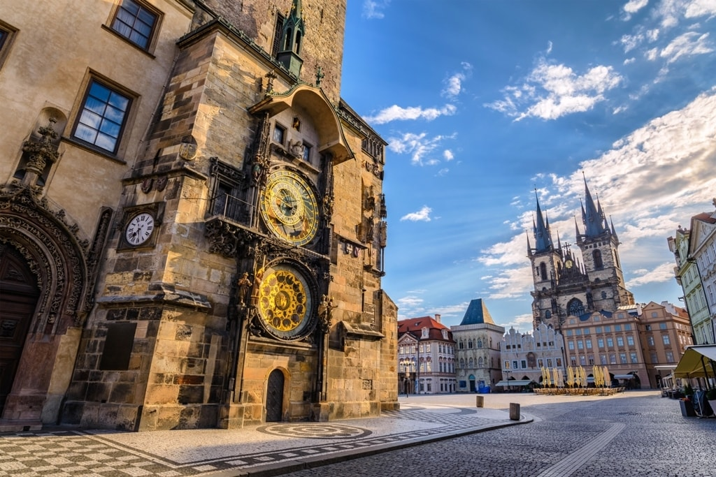 Old Town Hall Tower & the Astronomical Clock - two days in Prague