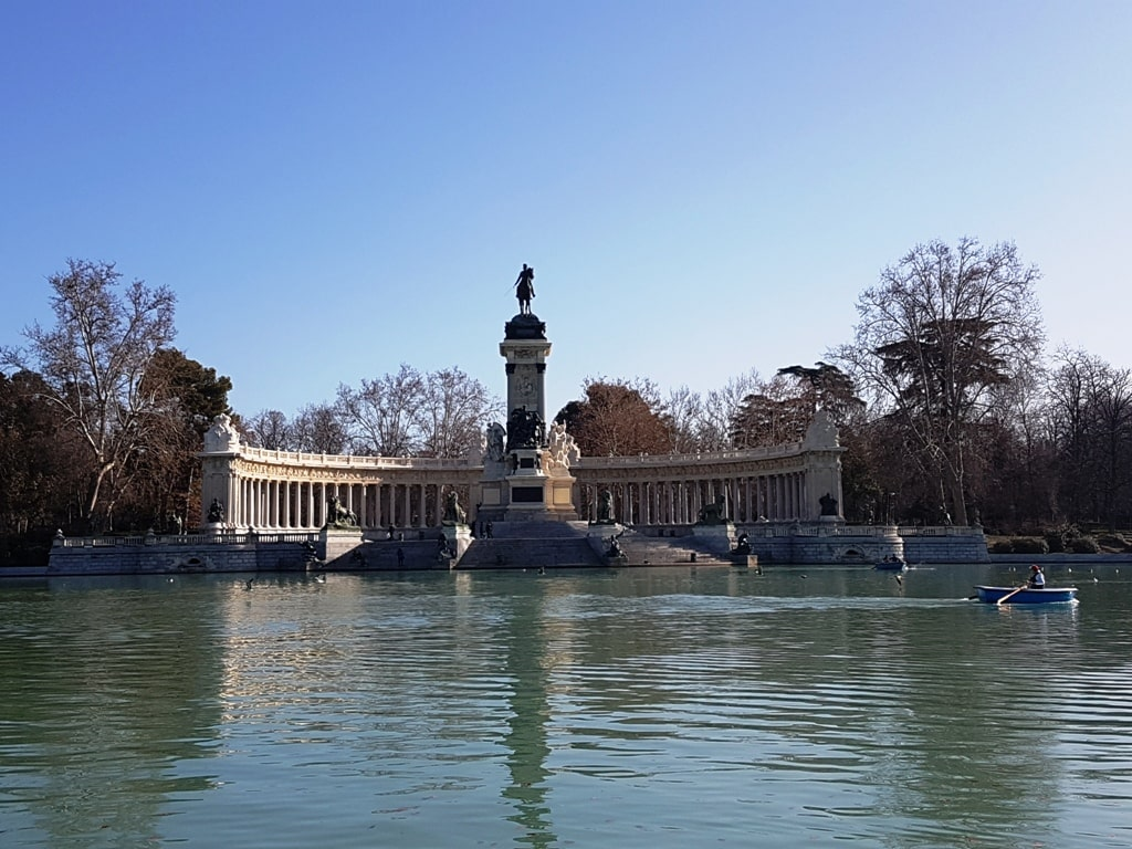 Retiro Park - 2 days in Madrid