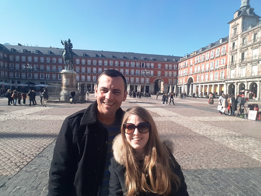In Plaza Mayor - 2 day Madrid itinerary