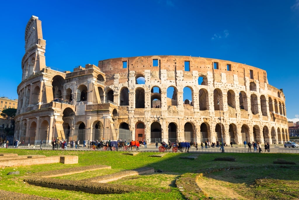 Colosseum - two days in Rome