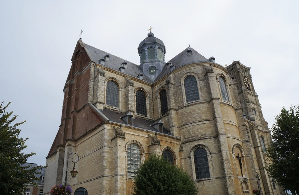 The church of Grimbergen Abbey - 2 days in Brussels