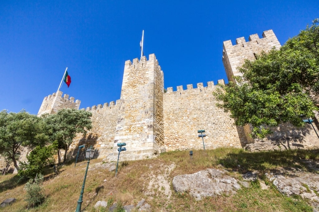 Sao Jorge Castle - Two days in Lisbon