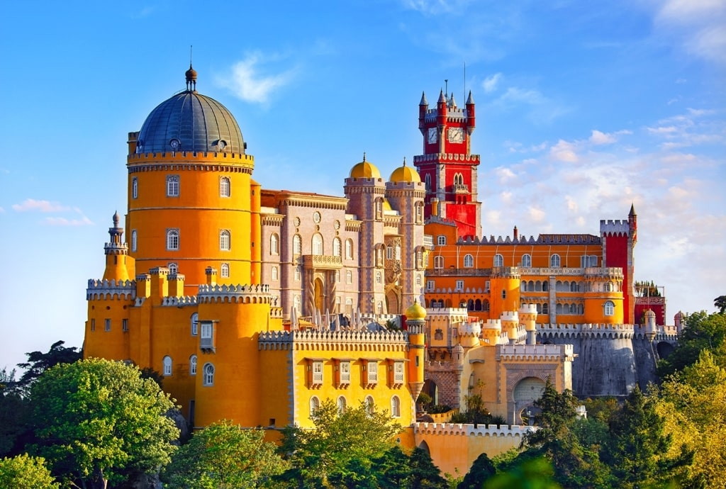Palace of Pena in Sintra - 2 days in Lisbon