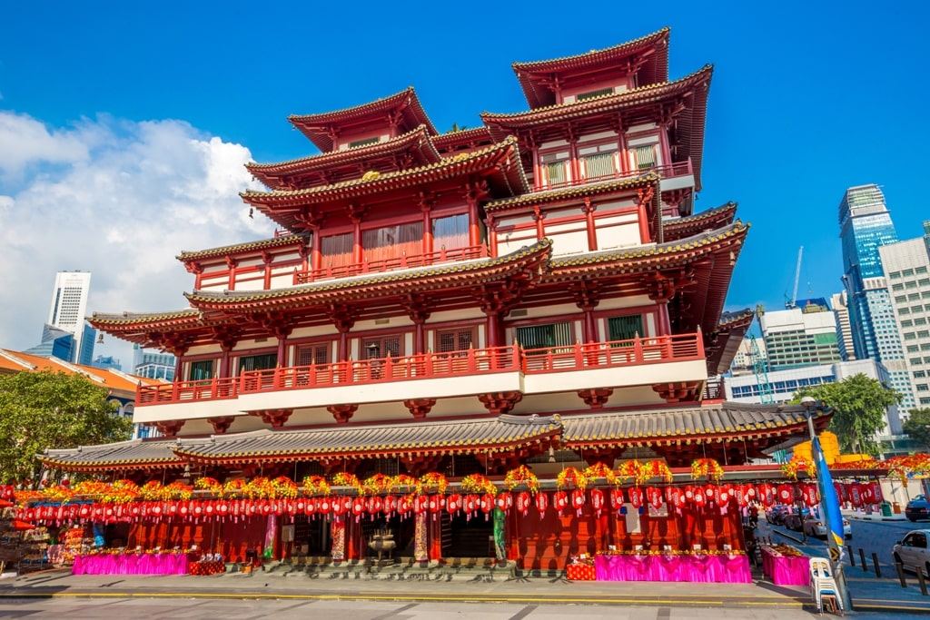 Buddha Tooth Relic Temple - 2 days in Singapore