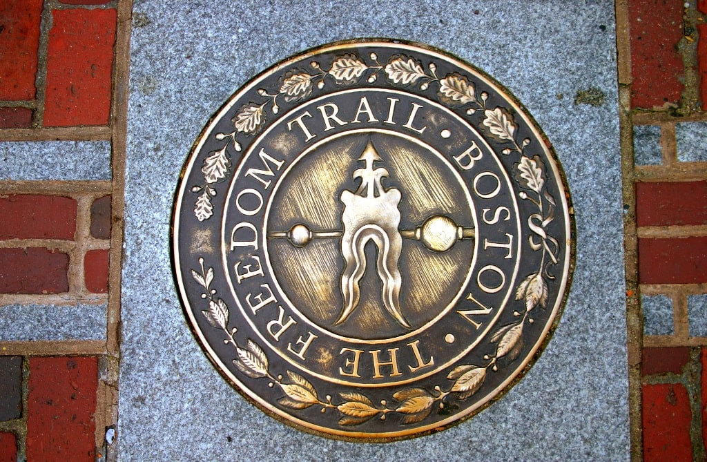 Freedom Trail, Boston - two days in Boston