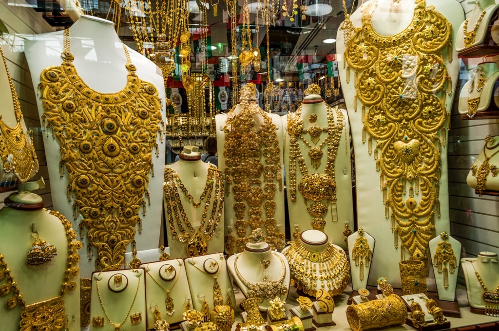 Jewelry in the gold souk - 2 days in a city