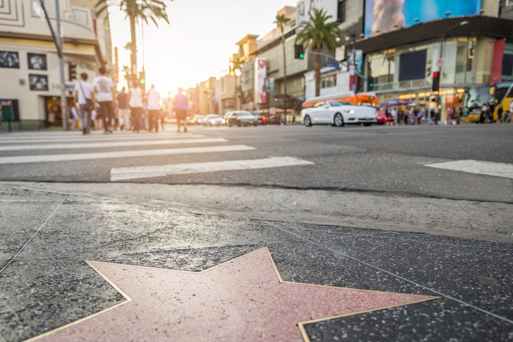 Hollywood Walk of Fame - 2 days in LA