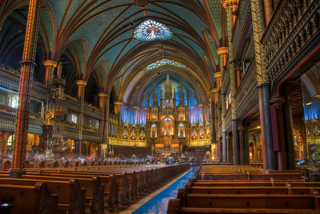 Notre-Dame Basilica - things to do in Montreal in 2 days