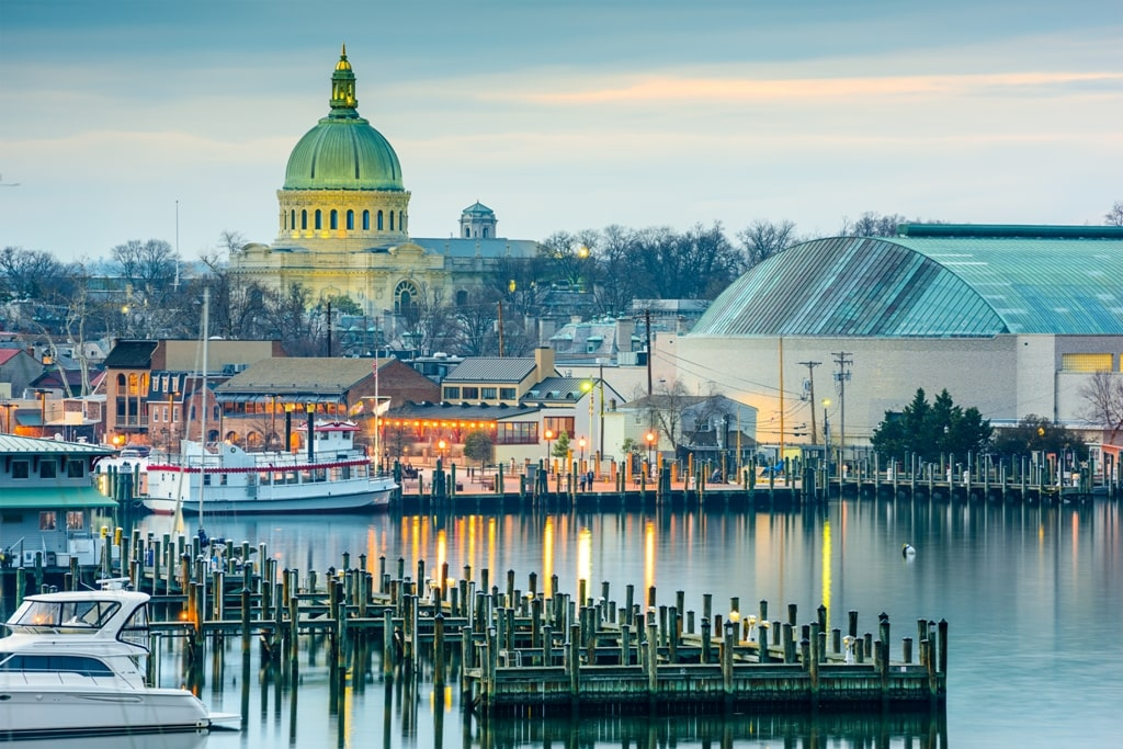 Annapolis, Maryland - best weekend getaways on teh East Coast